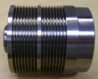 "Poly-V Endcap (Hub) for 2.5"" Pallet Conveyor Roller"