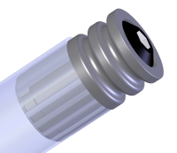 "Poly-O Endcap, O-ring Insert for 1.9"" conveyor rollers"